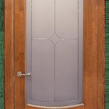 Дверь Алина со стеклом