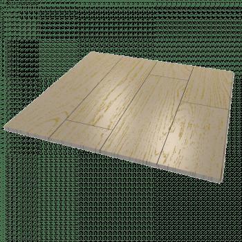 Масивная доска из дуба беленного под старину с золотом