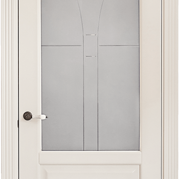 Дверь Ирина со стеклом