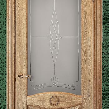 Дверь Ольга со стеклом